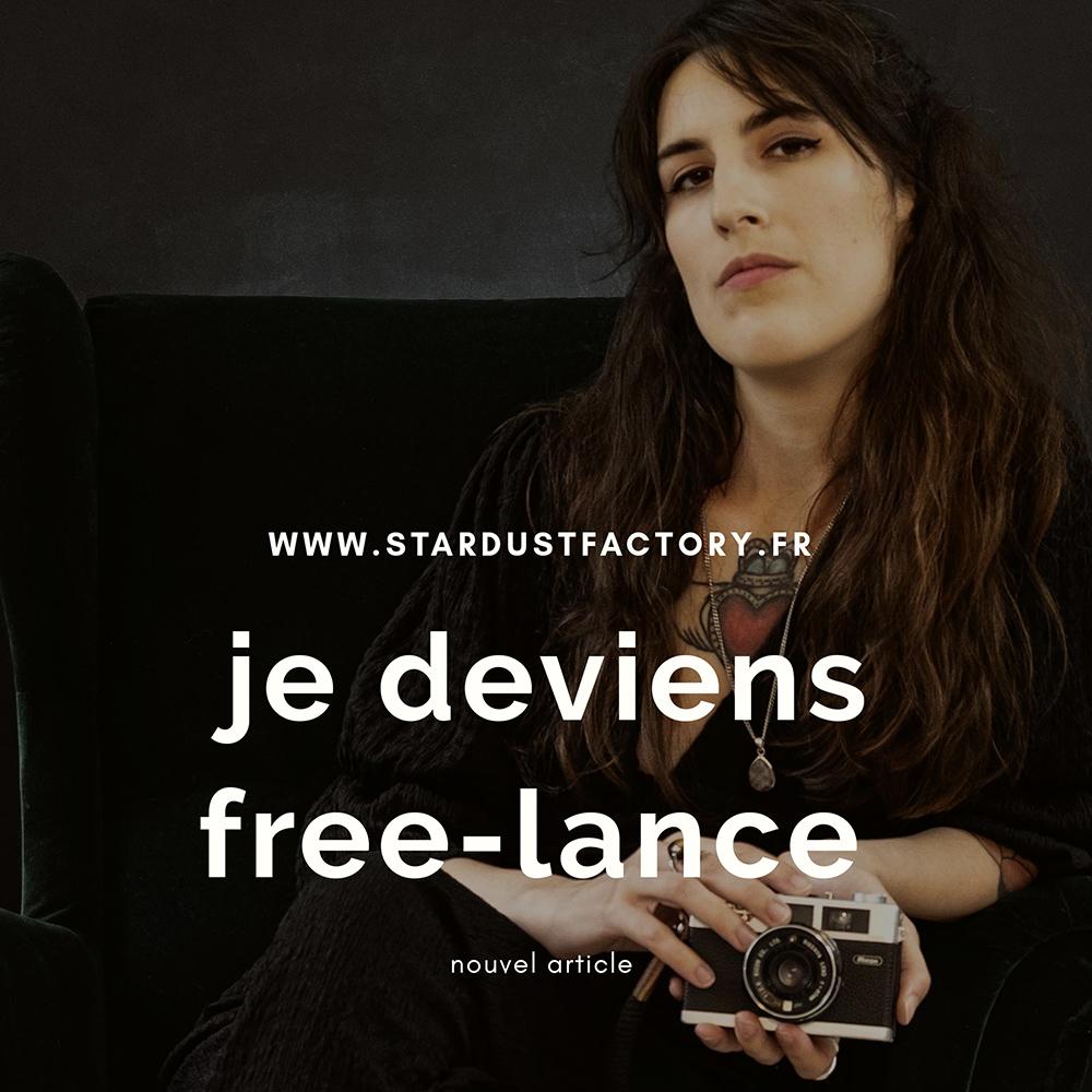 Je deviens Freelance